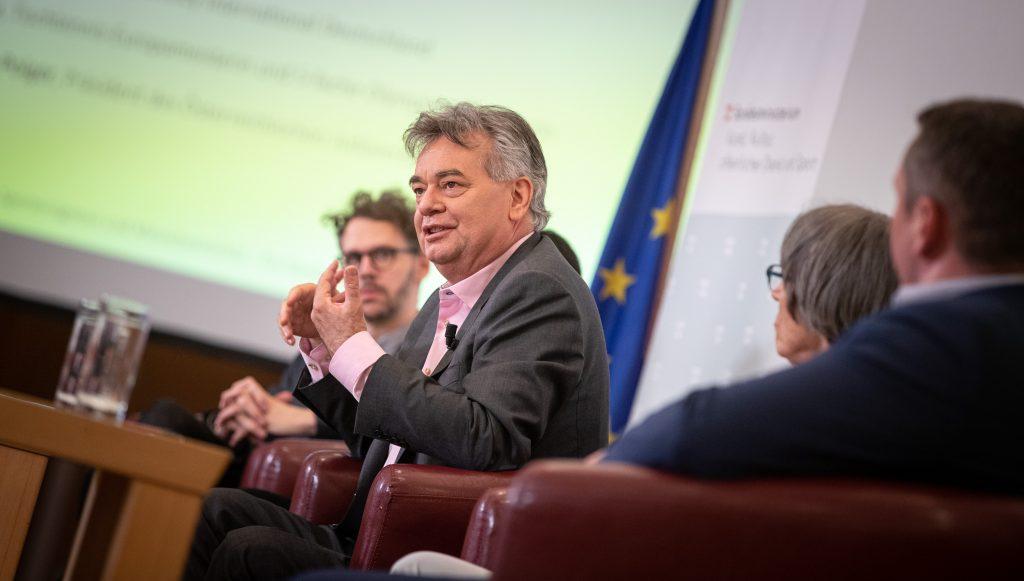 Sportminister Werner Kogler (Foto: HBF/ Daniel Trippolt)