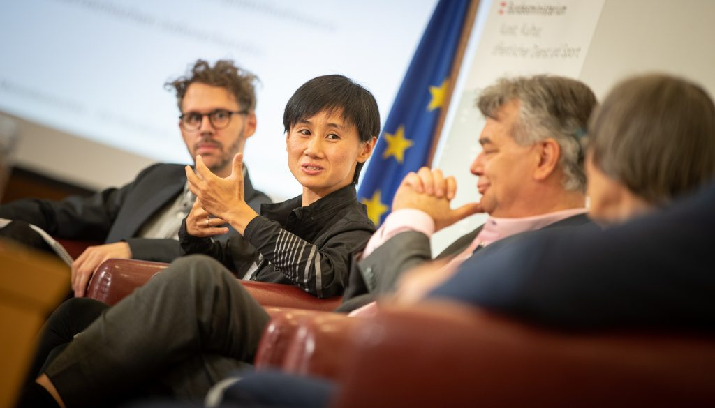 Jia Liu (Foto: HBF/ Daniel Trippolt)